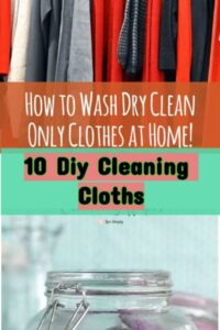 10 Diy Cleaning Cloths-diy Tutorials To Do At Home