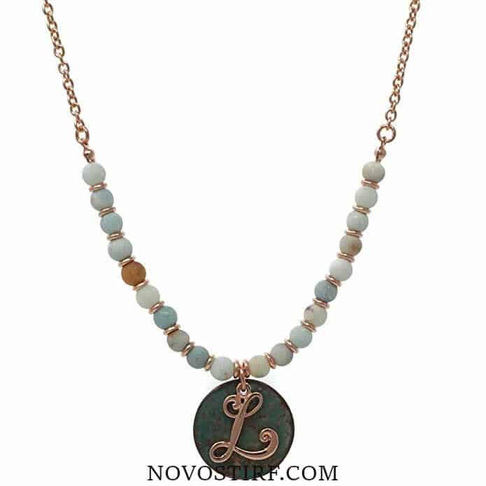 Amazing 15 Monogram Necklaces Collection